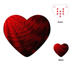 A Large Background With A Burst Design And Lots Of Details Playing Cards (heart)
