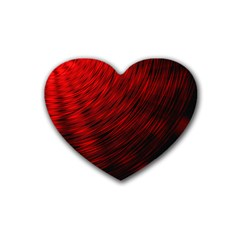 A Large Background With A Burst Design And Lots Of Details Heart Coaster (4 Pack)