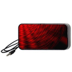 A Large Background With A Burst Design And Lots Of Details Portable Speaker (Black)