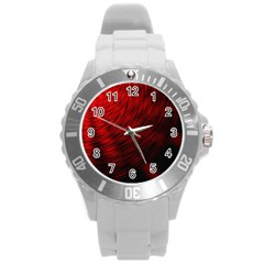 A Large Background With A Burst Design And Lots Of Details Round Plastic Sport Watch (L)