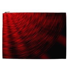 A Large Background With A Burst Design And Lots Of Details Cosmetic Bag (xxl)