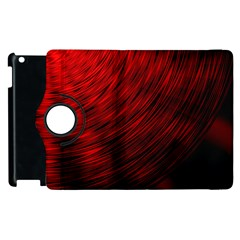 A Large Background With A Burst Design And Lots Of Details Apple iPad 3/4 Flip 360 Case