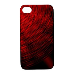 A Large Background With A Burst Design And Lots Of Details Apple Iphone 4/4s Hardshell Case With Stand