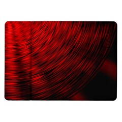 A Large Background With A Burst Design And Lots Of Details Samsung Galaxy Tab 10 1  P7500 Flip Case
