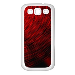 A Large Background With A Burst Design And Lots Of Details Samsung Galaxy S3 Back Case (White)