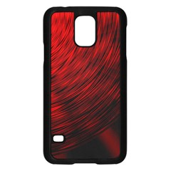A Large Background With A Burst Design And Lots Of Details Samsung Galaxy S5 Case (black)