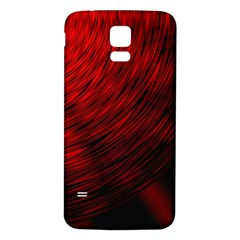 A Large Background With A Burst Design And Lots Of Details Samsung Galaxy S5 Back Case (white)