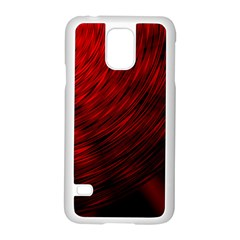 A Large Background With A Burst Design And Lots Of Details Samsung Galaxy S5 Case (White)