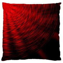A Large Background With A Burst Design And Lots Of Details Large Flano Cushion Case (One Side)