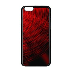 A Large Background With A Burst Design And Lots Of Details Apple iPhone 6/6S Black Enamel Case