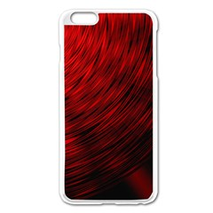 A Large Background With A Burst Design And Lots Of Details Apple iPhone 6 Plus/6S Plus Enamel White Case