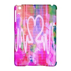 Watercolour Heartbeat Monitor Apple iPad Mini Hardshell Case (Compatible with Smart Cover)