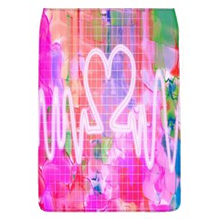 Watercolour Heartbeat Monitor Flap Covers (L)