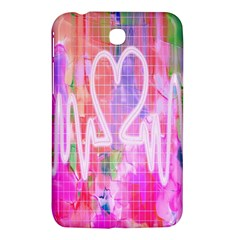 Watercolour Heartbeat Monitor Samsung Galaxy Tab 3 (7 ) P3200 Hardshell Case