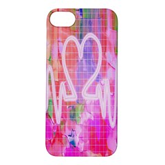 Watercolour Heartbeat Monitor Apple iPhone 5S/ SE Hardshell Case