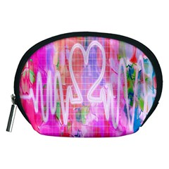 Watercolour Heartbeat Monitor Accessory Pouches (Medium)