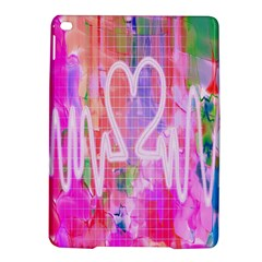 Watercolour Heartbeat Monitor iPad Air 2 Hardshell Cases