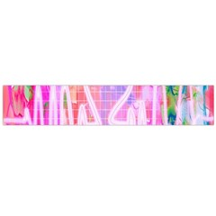 Watercolour Heartbeat Monitor Flano Scarf (Large)