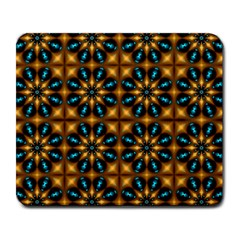 Abstract Daisies Large Mousepads