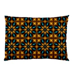 Abstract Daisies Pillow Case