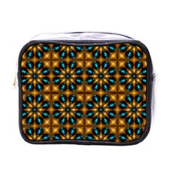Abstract Daisies Mini Toiletries Bags