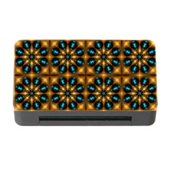 Abstract Daisies Memory Card Reader with CF