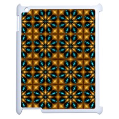 Abstract Daisies Apple iPad 2 Case (White)