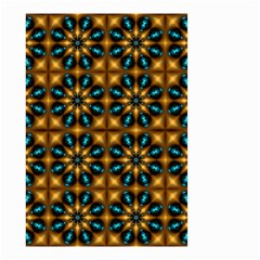 Abstract Daisies Small Garden Flag (Two Sides)