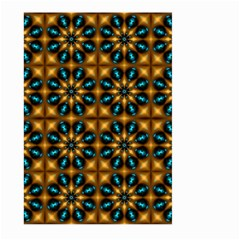 Abstract Daisies Large Garden Flag (Two Sides)