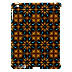 Abstract Daisies Apple iPad 3/4 Hardshell Case (Compatible with Smart Cover)