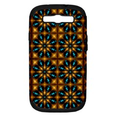 Abstract Daisies Samsung Galaxy S Iii Hardshell Case (pc+silicone)