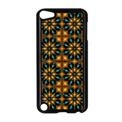 Abstract Daisies Apple iPod Touch 5 Case (Black)