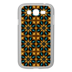 Abstract Daisies Samsung Galaxy Grand DUOS I9082 Case (White)