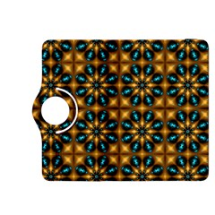 Abstract Daisies Kindle Fire HDX 8.9  Flip 360 Case