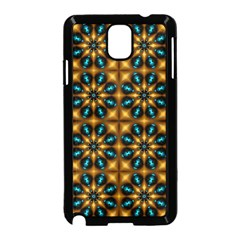 Abstract Daisies Samsung Galaxy Note 3 Neo Hardshell Case (Black)