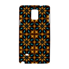 Abstract Daisies Samsung Galaxy Note 4 Hardshell Case