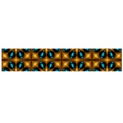 Abstract Daisies Flano Scarf (Large)