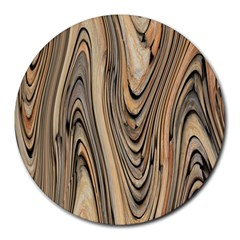Abstract Background Design Round Mousepads