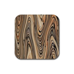 Abstract Background Design Rubber Coaster (square)