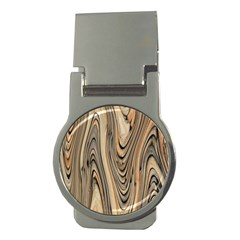 Abstract Background Design Money Clips (round)
