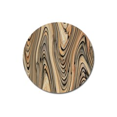 Abstract Background Design Magnet 3  (round)