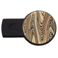 Abstract Background Design USB Flash Drive Round (1 GB)