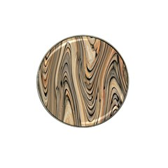 Abstract Background Design Hat Clip Ball Marker (4 pack)
