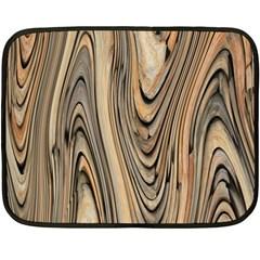 Abstract Background Design Fleece Blanket (mini)