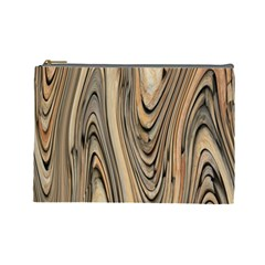 Abstract Background Design Cosmetic Bag (large)