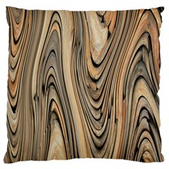 Abstract Background Design Large Cushion Case (One Side)