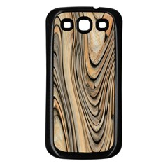 Abstract Background Design Samsung Galaxy S3 Back Case (Black)