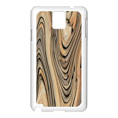 Abstract Background Design Samsung Galaxy Note 3 N9005 Case (White)