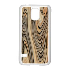 Abstract Background Design Samsung Galaxy S5 Case (White)