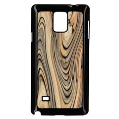 Abstract Background Design Samsung Galaxy Note 4 Case (black)